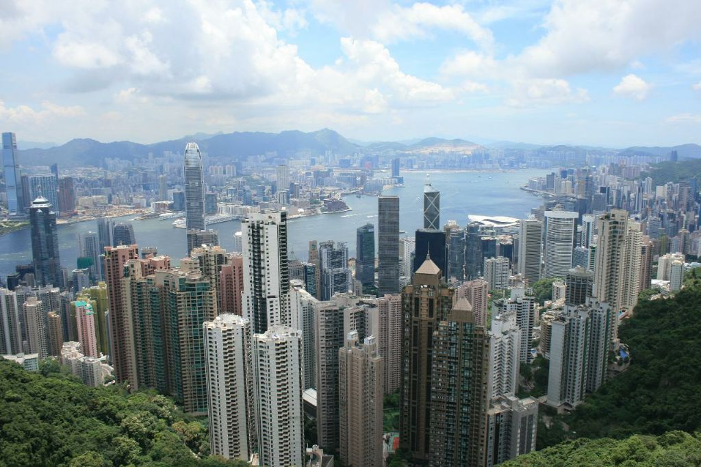 Hong Kong - view from hillside